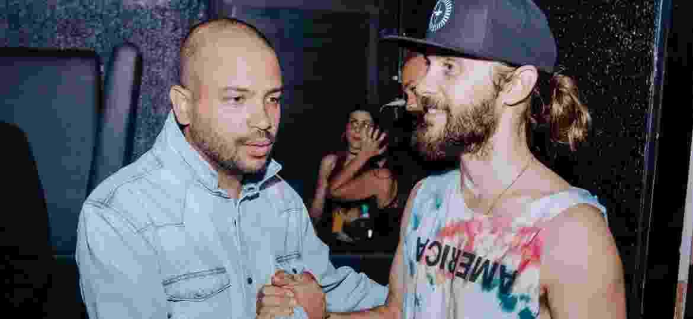Após se apresentar duas vezes com Thirty Seconds to Mars, Projota faz parceria com Thirty Seconds to Mars - Divulgação