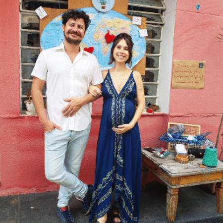 Gustavo Araujo e Daphne Bozaski - Reprodução/Instagram