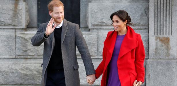 """Quarto do bebê de Meghan e Harry será """"agênero"""" e pintado com tinta vegana"""