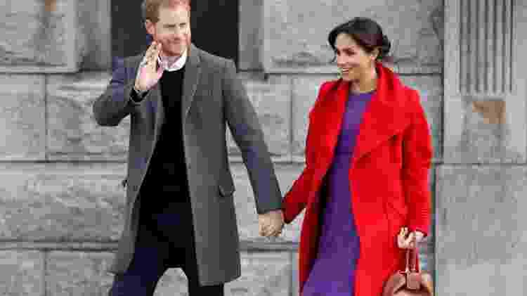 Príncipe Harry e Meghan - Reuters - Reuters