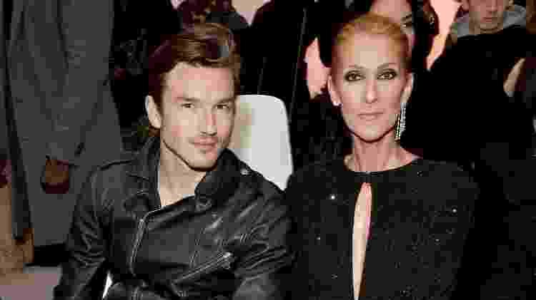Celine Dion posa ao lado do dançarino Pepe Munoz - Stephane Cardinale/Corbis/Getty Images - Stephane Cardinale/Corbis/Getty Images