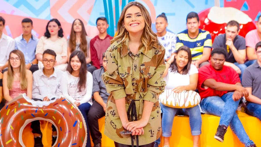 Maisa Silva no seu programa de estreia no SBT - Gabriel Cardoso/SBT