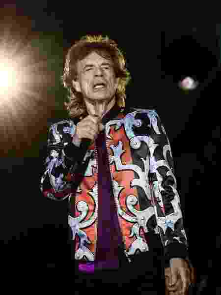 Mick Jagger se apresenta com os Rolling Stones em Marseille, na França - AFP