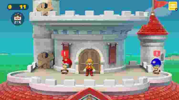 Mario também é mestre de obras - Divulgação