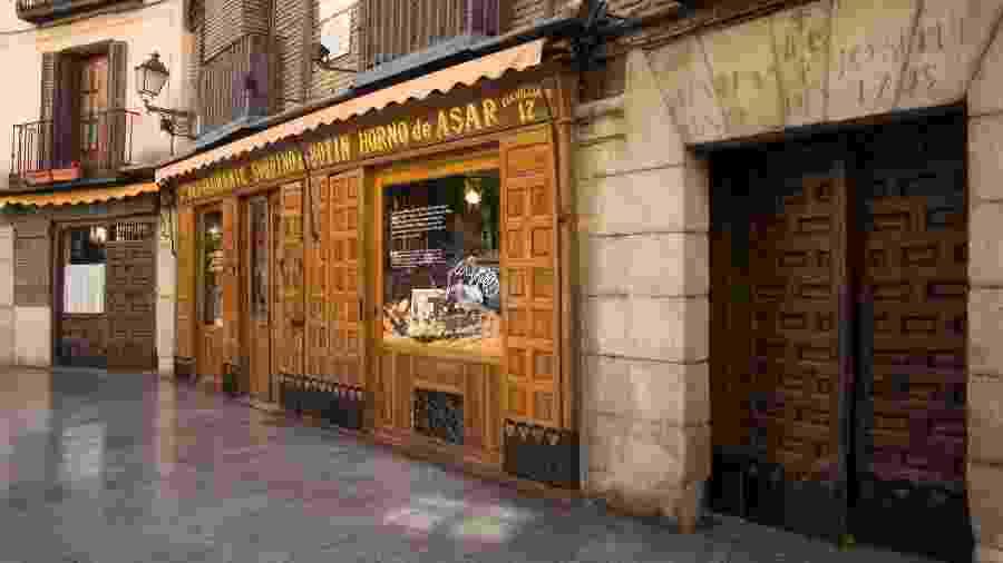 Localizado em Madri, o restaurante Botín foi aberto em 1725 - Divulgação/Botín