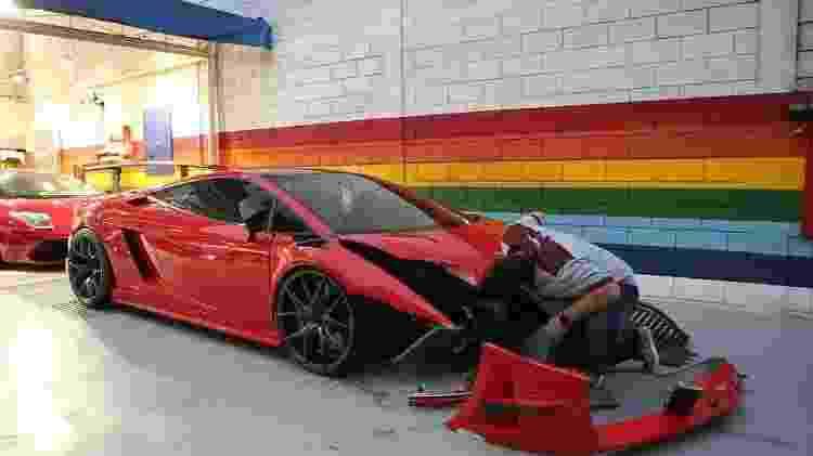 Lamborghini Gallardo Super Trofeo - Reprodução - Reprodução
