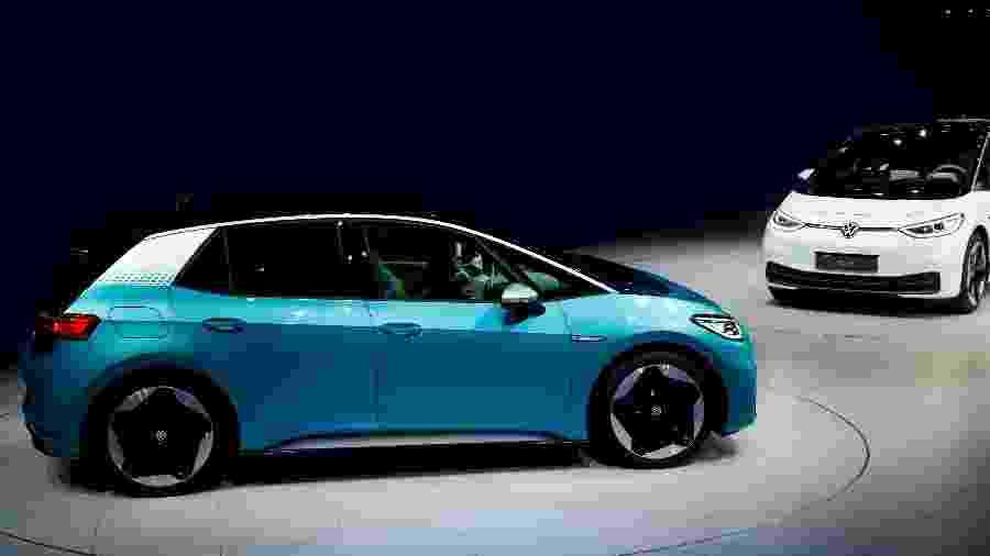 Elétrico, Volkswagen ID.3 foi apresentado no Salão de Frankfurt - Reuters