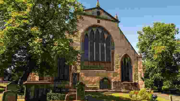Cemitério de Greyfriars - Reprodução/Facebook - Reprodução/Facebook