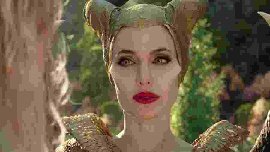 """Angelina Jolie em cena de """"Malévola: Dona do Mal"""" - Reprodução/Disney"""