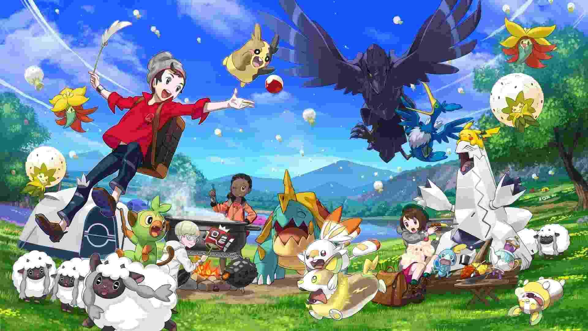 Pokémon Sword e Shield - Divulgação