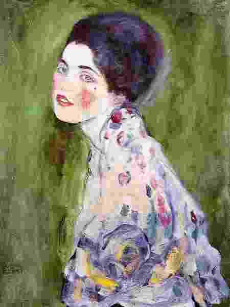 A pintura Retrato de uma Dama tinha sido avaliada em US$ 66 milhões em 1997 quando desapareceu - BBC