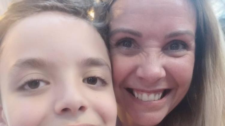 Quando Pedro Henrique começou a perder peso, a mãe, Erika, ficou alarmada - Arquivo pessoal