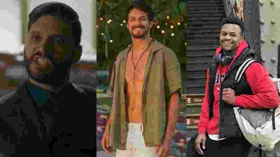 Bom Sucesso teve verdadeiros boys lixo entre seus personagens - Reprodução/Globo/Divulgação/Globo/Montagem UOL