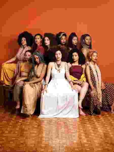 Funmilayo Afrobeat, coletivo formado por mulheres negras  - José de Holanda/Divulgação