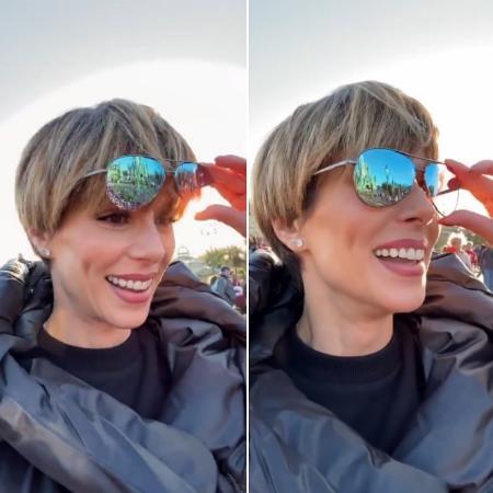 Ana Furtado usa óculos para corrigir daltonismo - Reprodução/ Instagram
