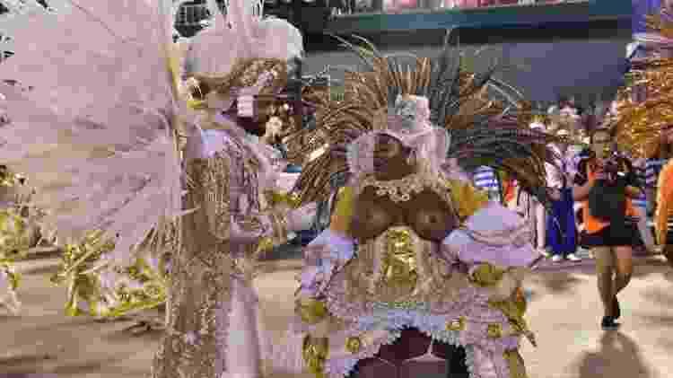 Jojo Todynho no desfile da Beija-Flor - Leo Franco / AgNews