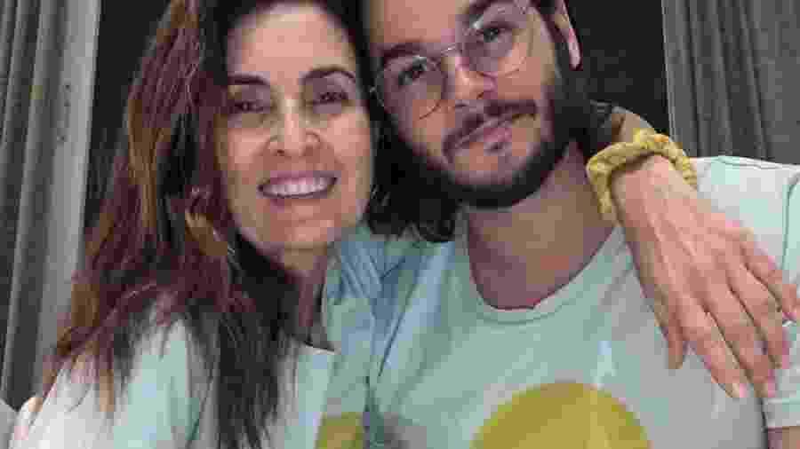 Fátima Bernardes e Túlio Gadêlha; apresentadora elogiou os dotes culinários do namorado - REPRODUÇÃO/INSTAGRAM