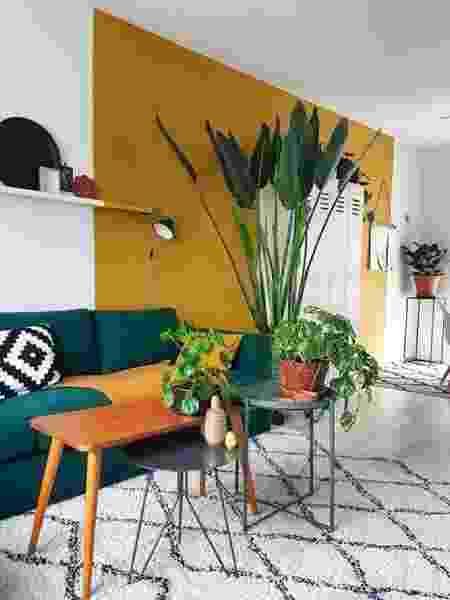 Parede meia cor mostarda - Reprodução/Pinterest - Reprodução/Pinterest
