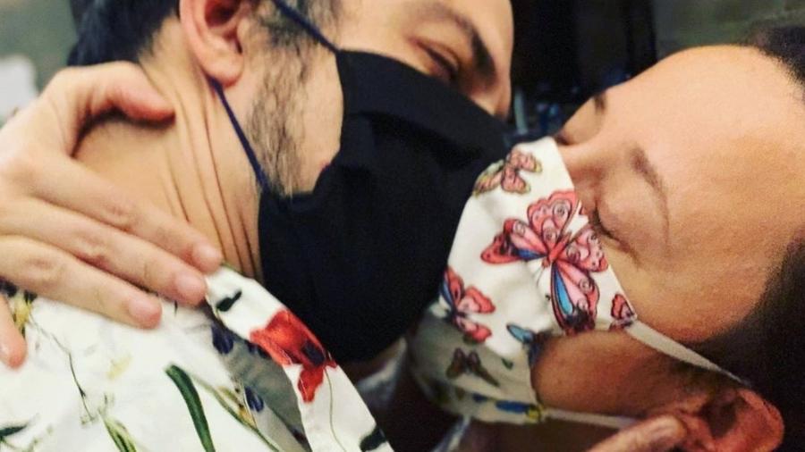 """""""Amor em tempos de Covid"""" - Reprodução/Instagram"""