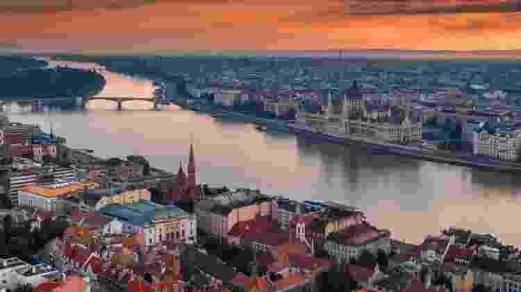 Budapeste, na Hungria - Reprodução - Reprodução