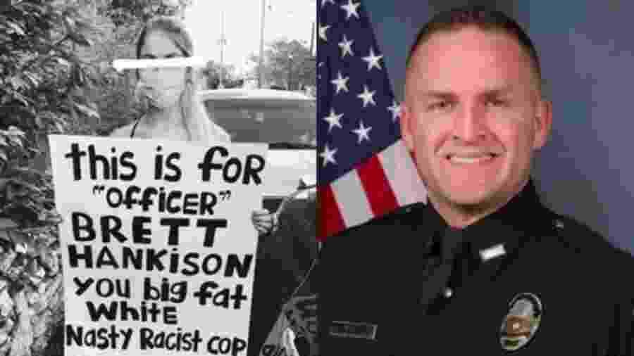 Mulheres relatam agressões sexuais do policial Brett Hankison, envolvido na morte de Breonna Taylor - Reprodução/Facebook