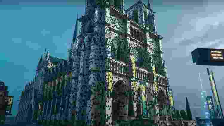 Hyper Scape Cidade - Divulgação/Ubisoft - Divulgação/Ubisoft