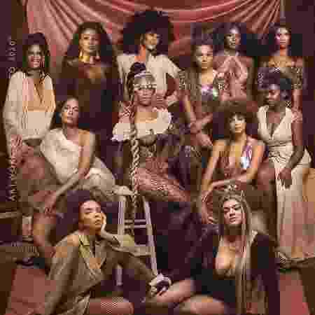 Taís Araujo e outras artistas brasileiras aparecem ao lado de Beyoncé - Reprodução/Instagram @taisdeverdade