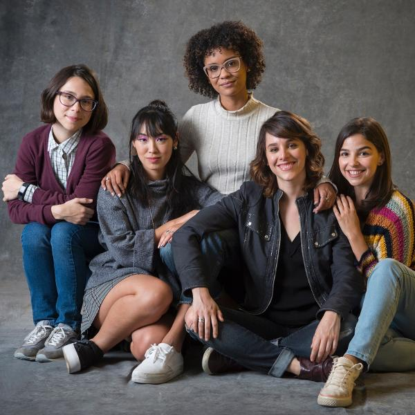 O elenco de 'As Five'