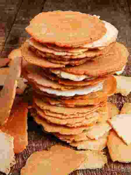 Sembei: biscoitinho à base de arroz - Getty Images/iStockphoto - Getty Images/iStockphoto