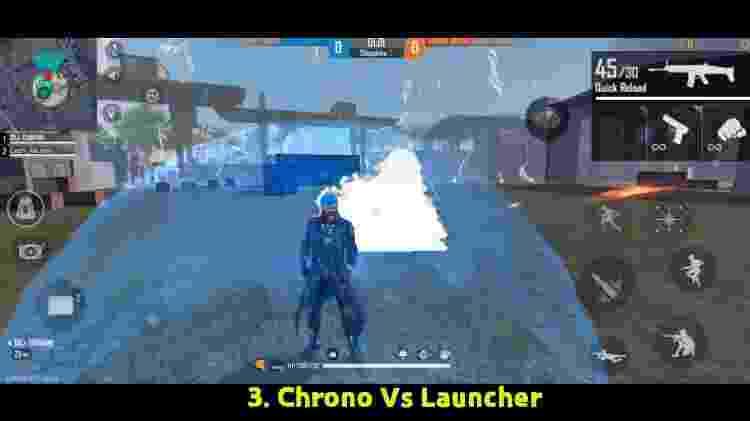 Free Fire O campo de força para qualquer explosão - Reprodução/Youtube/BrOkEn JoYsTiCk - Reprodução/Youtube/BrOkEn JoYsTiCk