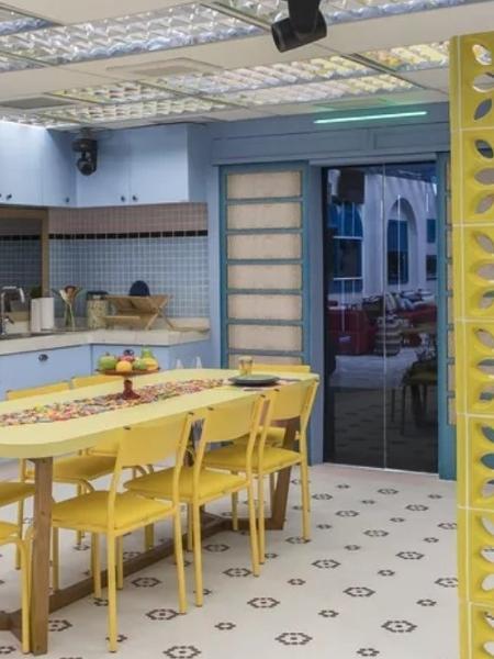 """BBB 2021: Cozinha do grupo que estiver na """"Xepa"""", inspirada nas casas de avós - Reprodução/Instagram"""