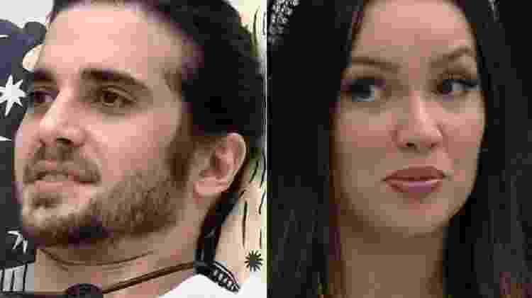 BBB 21: Fiuk dá cantada em Juliette - Reprodução/Globoplay - Reprodução/Globoplay