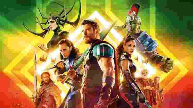 Thor Ragnarok - Divulgação/Marvel Studios - Divulgação/Marvel Studios