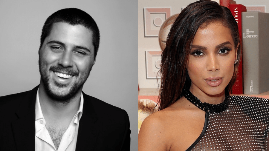Michael Chetrit, novo namorado de Anitta - Reprodução/Linkedin/Alexander Tamargo/Getty Images