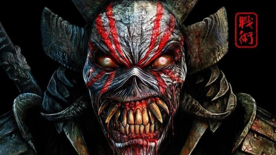 """Arte de """"Senjutsu"""", 17º álbum de estúdio do Iron Maiden - Divulgação"""