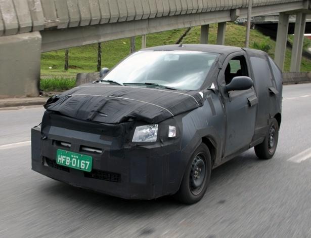 Em versão definitiva de carroceria, novo subcompacto da Fiat já roda em teste pelo Brasil - Marlos Ney Vidal/Autossegredos.com.br