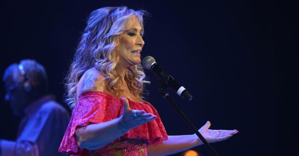 26.jan.2016 - A cantora Rosemary se apresenta no Vivo Rio, no show de Verão da Mangueira