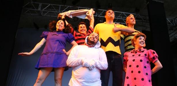"""Tiago Abravanel protagoniza o musical """"Meu amigo Charlie Brown"""" - Jales Valquer/Fotoarena/Estadão Conteúdo"""