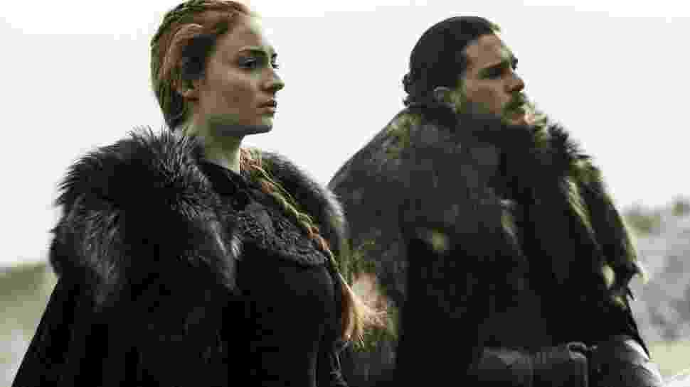 Sansa e Jon Snow - Reprodução/HBO