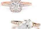 Ouro rosé surge como nova tendência para alianças de noivado e casamento - Divulgação