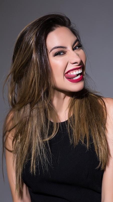 A apresentadora e repórter Marcela Monteiro - Divulgação