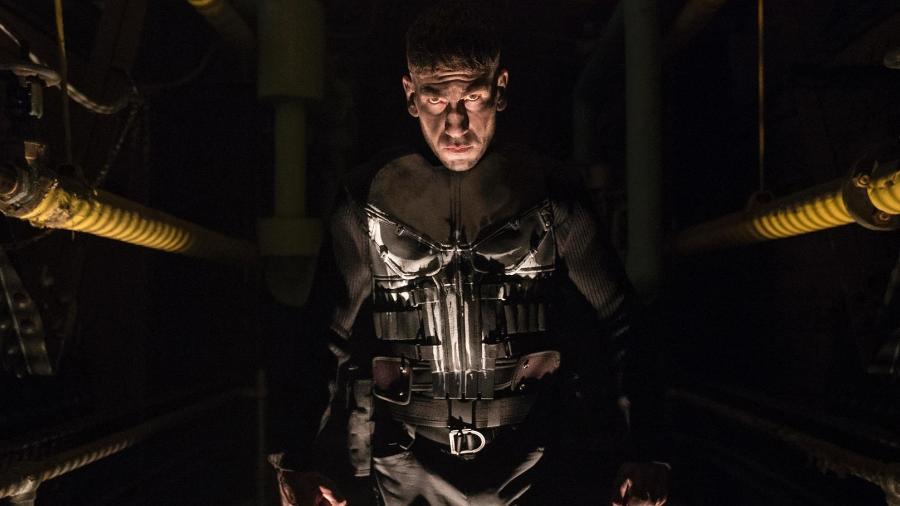 Justiceiro aparece com o uniforme em nova foto divulgada pela Netflix - Jessica Miglio/Netflix/Divulgação