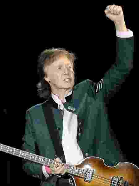 "Paul McCartney se apresenta em Porto Alegre com a turnê ""One On One"" - Diego Vara/Reuters - Diego Vara/Reuters"