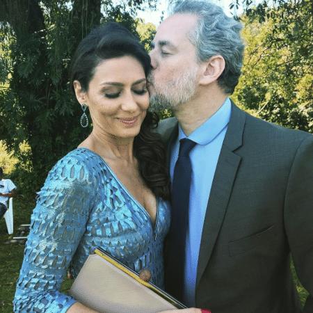Dan Stulbach e Maria Fernanda Cândido - Reprodução/Instagram/danstulbach