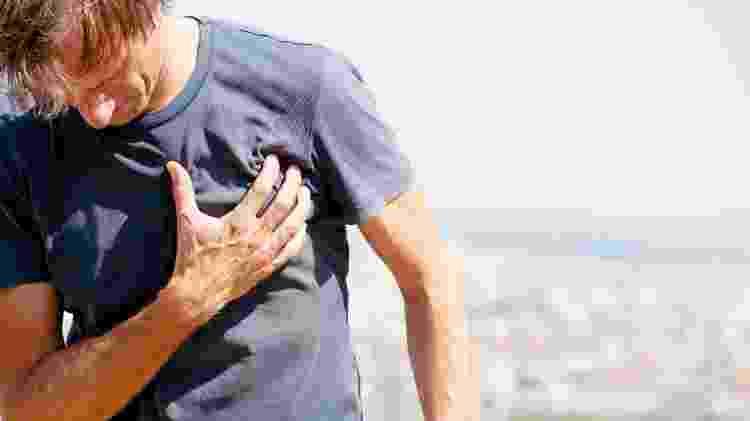 Dor no coração / Infarto - iStock - iStock