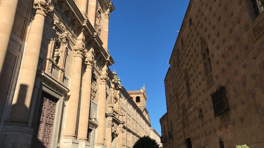 A Casa das Conchas em Salamanca, na Espanha - Ricardo Ribeiro/UOL
