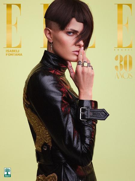 Isabeli Fontana na capa da Elle - Nicole Heiniger
