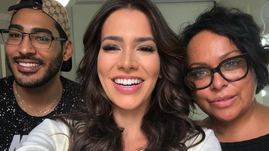 Adriana Santana em post no seu Instagram - Instagram/Reprodução