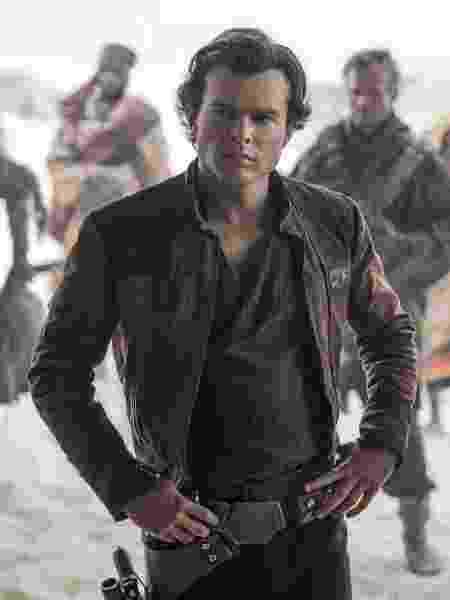 """""""Han Solo: Uma História Star Wars"""" não correspondeu às expectativas - Jonathan Olley /Lucasfilm Ltd."""