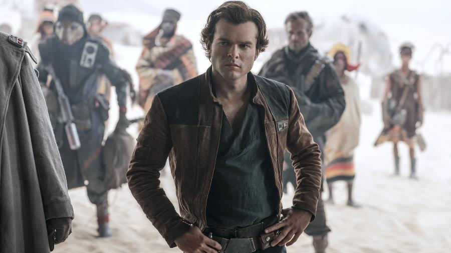 "Cena do filme ""Han Solo: Uma História Star Wars"" - Jonathan Olley /Lucasfilm Ltd."
